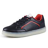 Men's LED Shoes Casual Fashion Comfort  /Outdoor & Walking Shoes/  Black / Red / White
