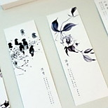 30 Pages Fine Literary Quality Paper Bookmark  (Random Color)