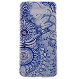 Flower Pattern Frosted TPU Material Phone Case for LG G5