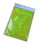 Ting Xiang Super Pad Student Stationery Transparent PVC Mickey Fluorescence WordPad Writing Pad