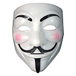 The V For Vendetta Party Cosplay Masque Mask Anonymous Guy Fawkes Fancy Dress Adult Costume Accessory  Halloween