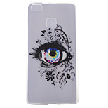 Eye Pattern Frosted TPU Material Phone Case for Huawei Ascend P9 Lite/P9/P8 Lite/P8