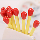 Simulation Cute Match Ballpoint Pen Oil Pen 0.5 Children Fun Student Stationery Pen