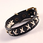 Genuine Leather Jewelry Punk Retro Handmade Classic Vintage High Quality Bracelets