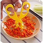 2016 Newly Baby Food Scissors ABS Multifunctional Food Shear for Kids Crushed Clip for Children Complementary Kitchen