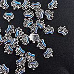 10pcs Pieces Of Equipment Drops Of Oil Retro Ornaments Alloy Gold And Silver Optional