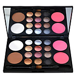16 Eyeshadow Palette Dry Eyeshadow palette Powder Large Daily Makeup