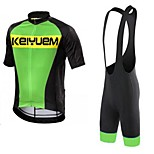 KEIYUEM®Others Summer Cycling Jersey Short Sleeves + BIB Shorts Ropa Ciclismo Cycling Clothing Suits #66