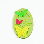Lace Butterflys Silicone Mold for Chocolate Polymer Clay Candy Sugarcraft Tools Cake Decoration Mould