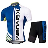 KEIYUEM®Others Summer Cycling Jersey Short Sleeves + Shorts Ropa Ciclismo Cycling Clothing Suits #78