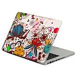 1 pezzo Anti-graffi Di plastica trasparente Decalcomanie A fantasia PerMacBook Pro 15'' with Retina / MacBook Pro 15 '' / MacBook Pro