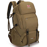 35 L Rucksack Camping & Hiking Outdoor Waterproof / Multifunctional Khaki / Blue / Army Green Nylon