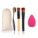 5 Set Contour Brush / Blush Brush / Concealer Brush HorseProfessional / Travel / Full