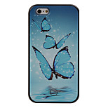 The New Butterfly Pattern Painted Camera Fill Light Phone Case For iPhone 5/5S/SE/6/6S/6 Plus/6S Plus
