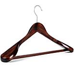 1PC 44*24*5.5cm High-Grade Wide Shoulder Real Wood Hangers
