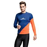 SBART Men's Diving Suits Diving Suit Compression Wetsuits 1.5 to 1.9 mm Blue M / L / XL / XXL / XXXL Diving