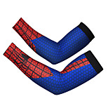 Spider Man Red Blue Cycling Cuff Sunscreen