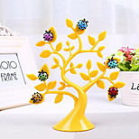 Creative Lucky Tree with Ladybug Fridge Magnets