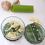 1PCS Creative Kitchen Gadget / Multi-Função / novo Aço Inoxidável / Plástico Ferramentas para Alho