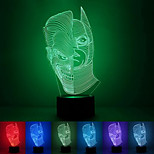 Two-Face Creative Colorful USB 3D Led Night Light