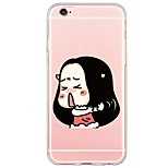 Cartoon Pattern TPU Soft Ultra-thin Back Cover Case Cover For Apple iPhone  6 Plus / iPhone 6s/6 / iPhone 5s/5