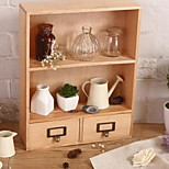 Household Double Drawer Storage Cabinets