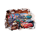 6020 Cartoon Wall Stickers Plane Wall Stickers Decorative Wall Stickers,PVC Material Removable  Home Decor