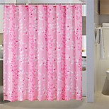 Country Floral Pattern Shower Curtains W71