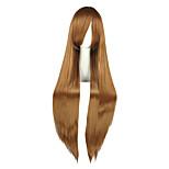Cosplay Wigs Fate/Zero Sandra Dortlake Brown Long Anime Cosplay Wigs 100 CM Heat Resistant Fiber Male / Female