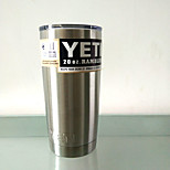 Hot Bilayer Stainless Steel Insulation Cup 20 OZ YETI Cups Cars Beer Mug Large Capacity Mug Tumblerful