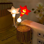 Colorful Stakes Flower Night Light