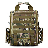 5 L Backpack Waterproof Army Green Nylon