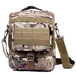 10 L Shoulder Bag Waterproof Army Green Nylon
