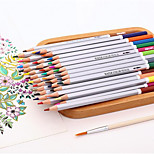 72Color Water-Soluble Colored Pencil Tin Secret Garden Graffiti Art Filled Pen Color Of Lead