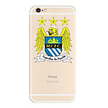 indietro Other Other TPU Morbido UEFA EURO Copertura di caso per Apple iPhone 6s Plus/6 Plus / iPhone 6s/6