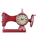 European Style Vintage Iron Desk Alarm Clock