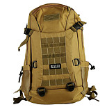 10 L Backpack Multifunctional Yellow Oxford