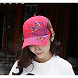Korean Sequin Embroidery Baseball Cap Butterfly Embroidery Duck Tide Hat