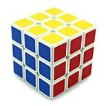 Shengshou® Magic Cube 3*3*3 Professional Level Smooth Speed Cube Black / White Plastic Toys