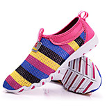 Red/Gray/Purple Wearproof Rubber Running Shoes for Women