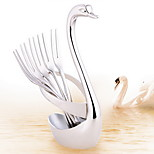 Fruit & Vegetable Tools Stainless Steel Pick & Toothpick Holder
