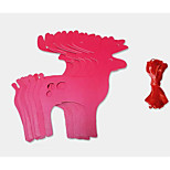 Jams Thick Red Elk Christmas New Year Holiday Decorations Garland Banners Hanging Flag Christmas Party Dress Up Supplies