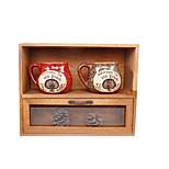 Desk Top Wooden Multilayer Simple Drawer Type Storage Cabinet Combined Desk Glove Box Storage Cabinet