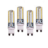 10W G9 LED Bi-pin Lights T 96 SMD 3014 700 lm Warm White / Cool White Decorative AC 220-240 V 4 pcs