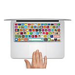 Keyboard Decal Laptop Sticker logos Pattern for MacBook Air 13