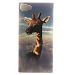Giraffe Painting Pattern TPU Soft Case for Sony Xperia Z5 Compact Z5 Mini/Z3 Compact Z3Mini/Z3