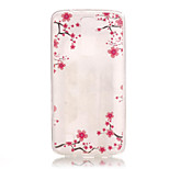 TPU + IMD Material Plum Flower Pattern Slim Phone Case for  LG K8/K7/K4/G5