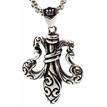Z355 Europe And The United States Foreign Trade, Tonghua Titanium Steel Necklace Pendant(Excluding Chain)