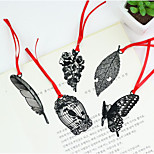 Classic Black Retro Hollow Metal Bookmarks Creative Student Gift Antiquity Chinese Wind Gift