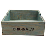 Special Retro Creative Glass Cabinet Drawer Desktop Storage Box Multifunctional Office Wooden Storage Box